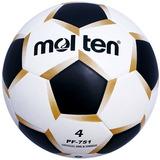 Balon Futbol Molten Pf-751 Pentagono Laminado Blanco N.4