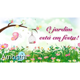 Convite Animado Jardim Encantado No Mercado Livre Brasil