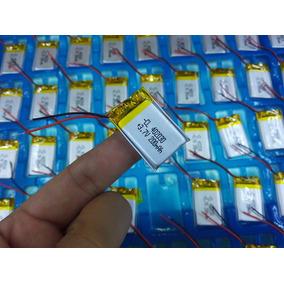 Bateria 3,7v 200mah Com 2 Fios Nova