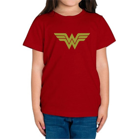 Playera Wonder Woman Mujer Maravilla Niña