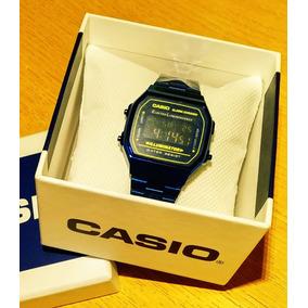 Reloj Casio Azul Digital Con Iluminación Y Alarma