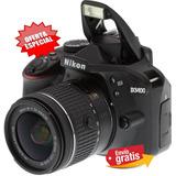 Camara Nikon Profesional D3400 24.2mp +lente 18.55mm Oferta
