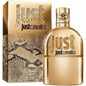 021fdf5a23c Perfume Just For Her Gold By Roberto Cavalli Women 75 Ml