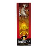 Muñecos X2 Jack Jack Raccoon Increibles 2 Disney Mundomanias