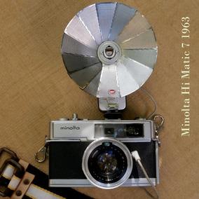 Cámara Telemétrica Minolta Hi-matic 7. Japon 1963 35mm