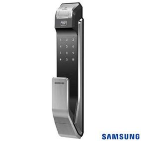 Fechadura Digital Biométrica Samsung Capacitivo Shs-p718