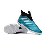 Chuteira adidas Ace Tango 17+ Purecontrol Tf - Society  7 36fcc209955fe