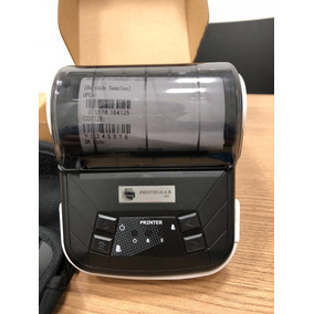 Mini Impressora Termica Bluetooth 80mm Portatil Printermax
