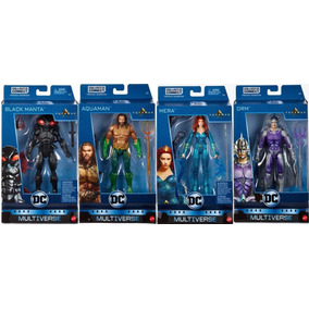 Aquaman Black Manta Mera Orm Dc Multiverse Trench Warrior