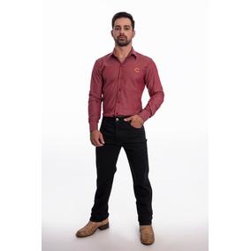 Calça Masculina West Country Black Com Elastano b704f2f94aa