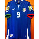 Camisa Itália Copa Das Confederações 2013 Balotelli  9 29c7f54f35b92