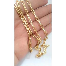 8baf43dae01 Corrente Cartier Folheada A Ouro Com Fecho Gaveta - Joias e Relógios ...