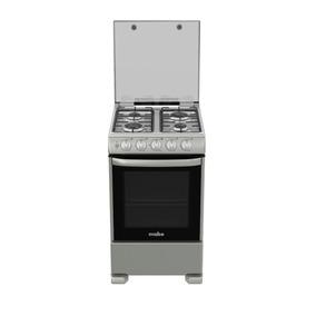 Cocina A Gas De 55 Cm Silver Mabe-cme5543cazs0