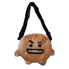 Bolso Personajes Bt21 Bts K-pop Cooky Chimmy Shooky Van