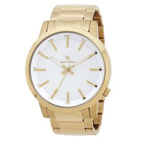 64dd7b22a54 Relogio Rip Curl Detroit Dourado - Relógios no Mercado Livre Brasil