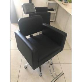 Poltrona Cadeira Reclinável Salão E Maquiagem Semi Nova