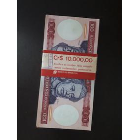 Lote Cem Notas Sequenciais De Cem Cruzeiros (cr$ 100)