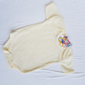 Pañalero Recien Nacido Color Crema Pastel Algodon Suave 100%