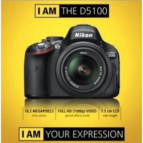 Câmera Digital Nikon Slr D5100+ Lente Nikkor 18-55mm Oferta!