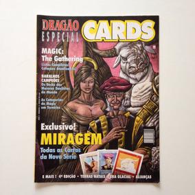 Revista Dragão Especial Cards Miragem Todas As Cartas N°05