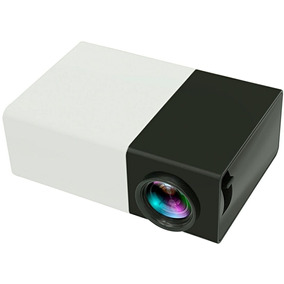 Mini Projetor Led 600 Lumes Hd Hdmi Usb Yg-300