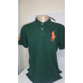 Camisa Polo By Ralph Lauren Verde Tamanho Ggg- Gg-g-m-p- 41ddd88338eab