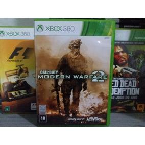 Call Of Duty Modern Warfare 2 Mw2 Xbox 360 Original Mídia