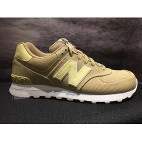 zapatillas doradas new balance