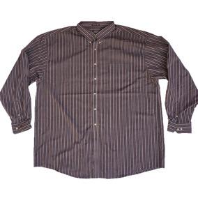 Camisa Casual North Crest Talla 3xlt Wrinkle Free Xxxl