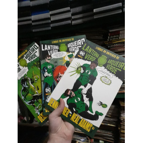 Revista Lanterna Verde Coleção Completa Neal Adans Denis One