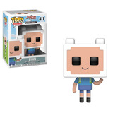 Funko Pop! #411 Minecraft Adventure Time Finn Nortoys
