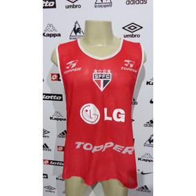Colete Treino São Paulo Topper Tm Gg 0ab2ba0e7659f