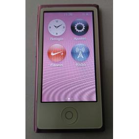 Ipod Nano 7 Lilás 16gb Bluetooth Rádio Usado Parcelado Bf0gr