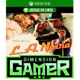 L.a. Noire - Xbox One - N Codigo