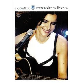 Dvd Marina Lima - Acústico Mtv