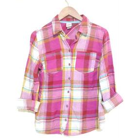 Camisa Rosa Mossimo Talla Scuadrada Estampado Garciamarie