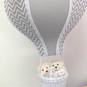 Lustre Quarto De Bebê Balão Acinturado Decoração Enfeite