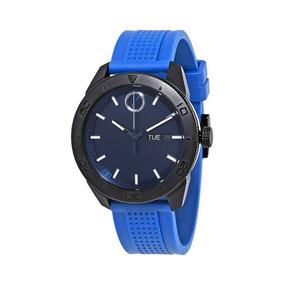 Reloj Movado 3600459 Silicona Azul Hombre