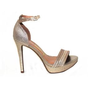 Sandalia Vizzano Salto Fino Glitter 6278110 - Lojas Pires