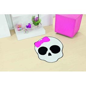Tapete Infantil Decoratico Para Quarto Caveira Pink