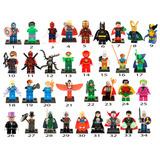 1 Figura Compatible Con Lego A Elegir Yoda Deadpool Batman