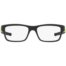 8b04e9023cc2a Armação Óculos De Grau Oakley Oph Marshal Ox8091 Tamanho 55