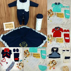 Pagão Bebe Kit 4 Conjuntos + Saida Maternidade 100% Algodão