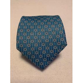 f6d0965e69a94 Gravata Hermes Azul Clara Com - Gravatas Masculinas no Mercado Livre ...