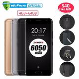 Ulefone Power 2 64gb 6050mah Mobile Phone Front Fingerprint