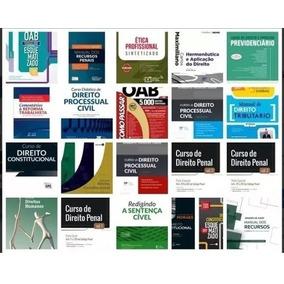 Pacote Livros De Direito Oab/concursos 100+ Livros - 2018