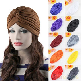 Turbante Varios Colores Moda Quimio Cancer Playa Urba Comodo