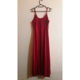 Vestido Elegante De Fiesta Rojo Boda Graduacion De Calidad