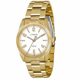 Relógio Lince Orient Lrgl009s Kt14 Fem Dourado Original Kit