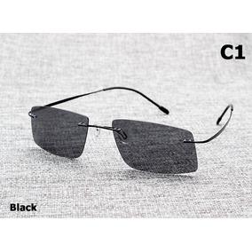 Óculos Armação Em Titânio Lente Polarizada - Óculos De Sol no ... b035f2a112